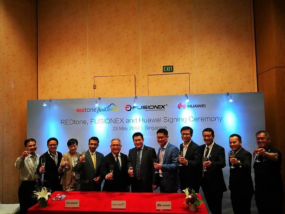 HUAWEI, REDTONE, FUSIONEX PARTNER ON CLOUD SERVICES IN APAC - REDtone